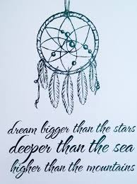 Quotes That Go With Dream Catchers Best of Adorn Your Walls With This Pretty Foil Print Featuring A Dream