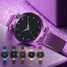 Women's Fashion Casual New <b>Luxury Starry Sky</b> Women <b>Watches</b> ...