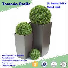 Decorative Boxwood Balls Artificial Plastic Topiary Grass BallFake Decorative Boxwood 81