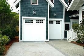 garage door only opens a few