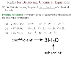 balancing equations practice ksheet answer key new problems of chemistry