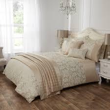 victoria gold damask jacquard luxury duvet cover