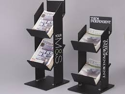 Newspaper Display Stands Enchanting Acrylic Newspaper And Magazine Display Stands