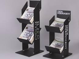 Newspaper Display Stands Enchanting Acrylic Newspaper And Magazine Display Stands