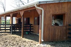 Horse Shed Designs Budget Barn Design The Horse