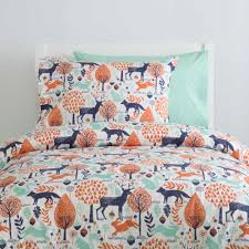 Kids Bedding | Twin, Full, and Queen Sized Bedding for Your ... & ... Navy and Orange Woodland Kids Bedding Adamdwight.com