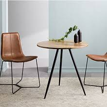small furniture for small spaces. Wren Bistro Table Raw Mango In Small Furniture For Spaces