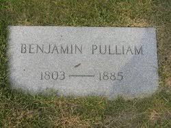 Benjamin S. Pulliam (1803-1885) - Find A Grave Memorial