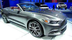 2015 ford mustang interior. 2015 ford mustang convertible exterior and interior walkaround debut at 2014 detroit auto show youtube