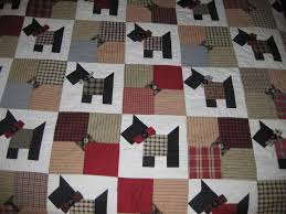 32 best Scotty dogs images on Pinterest | Sew, Beautiful and ... & Scotty Dog Quilt Adamdwight.com