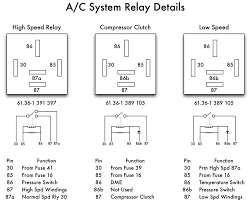 bmw e36 air conditioning relays mechanical daydream