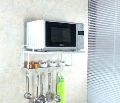 microwave shelves wall mounted microwave shelves a wall mount microwave shelf