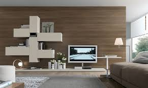 Modern and Functional Wall Unit Design for Home Interior Furniture