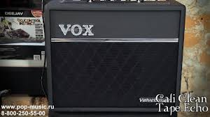 <b>Гитарный комбо VOX</b> VT20+ VALVETRONIX - YouTube