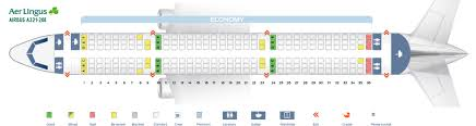 Seat Map Airbus A321 200 Aer Lingus Best Seats In Plane