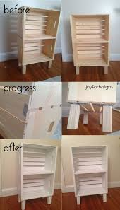 diy crate furniture. diy bookcase night stand or storage super easy crates from joannu0027s 899 diy crate furniture y