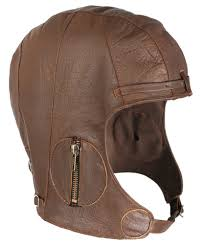 ww2 style leather flying helmet tap to expand