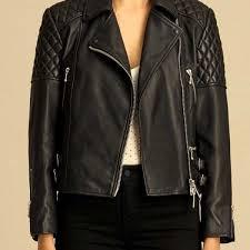 Women's Diamond Quilted Biker Leather Jacket - Leather Wear & Women's Diamond Quilted Biker Leather Jacket Adamdwight.com