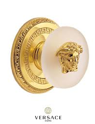 versace door knobs
