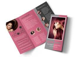 Beauty Experts Tri Fold Brochure Template