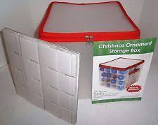 Sterilite Ornament Storage In Ornament Storage BoxesChristmas Ornament Storage