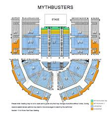 Plenary Seating Chart Mythbusters Behind The Myths Tour