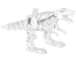 Transformers Coloring Pages Grimlock Toy