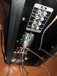 Goldmaster 5+1 ses sistemi kablo bağlantısı