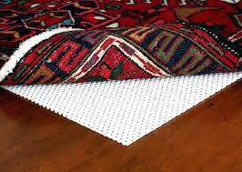 how to keep area rugs from slipping on hardwood floors under carpet anti slip rug holders
