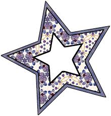 star shaped sbook frames from set a05 purple wood roses free crafty clipart prints