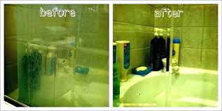 hard water stains on shower glass how to clean glass shower doors with hard water stains