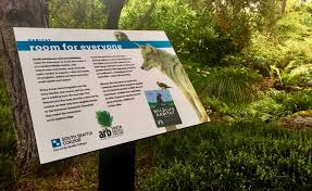 New Interpretive Signs Are Installed In The Arboretum