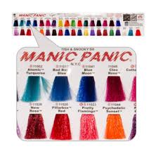 Manic Panic Blue Color Chart Manic Panic Hair Dye Color Chart Find Your Perfect Hair Style