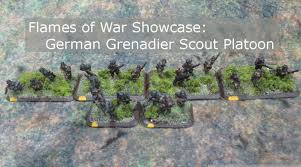 army recon scout flames of war showcase grenadier scout platoon must contain minis