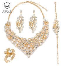 Gold Set Design Dubai 2019 Baus 2018 Dubai Gold Color Earrings Jewelry Sets Design Nigerian Bridal Jewelry Sets Fashion African Beads Set Wholesale From Kuanbao 11 15
