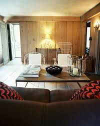 rooms with modern wood paneling
