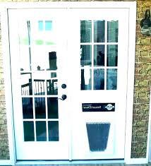 pet door for glass door patio screen door with pet door patio door dog door cozy pet door for glass
