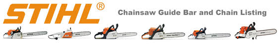 Stihl Bar Chart Stihl Chainsaw Bar Chain Guide Power Mower Sales