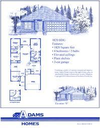 adams homes floor plans. Adams Homes Floor Plans 1820palm Coast South 0