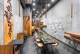 sustainable restaurant furniture. AJA Restaurant / Arch.Lab, © Purnesh Dev Nikhanj Sustainable Furniture