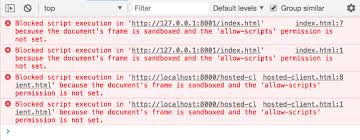 iframe sandbox permissions tutorial
