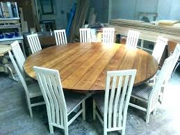 round dining table seats 6 large 8 w