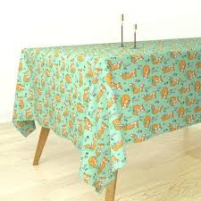 modern tablecloths bantam rectangular tablecloth round