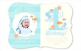 1st Birthday Birthday Invitation Card In Telugu
