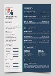 Elegant Resume Templates 15 Free Elegant Modern Cv Resume Templates Psd  Freebies Ideas