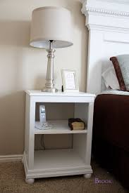 open shelf nightstand. Brilliant Nightstand Free Plans To Build A Pottery Barn Kids Catalina Inspired Nightstand  Features Two Open Shelves And Bun Feet With Open Shelf Nightstand