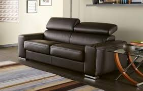leather sofa bed. Kalamos Sofa Bed 3 Seater Sierra Contrast Leather L