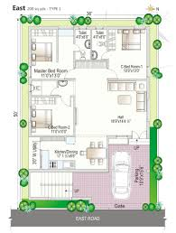 Fancy Design 10 House Plans For 30x40 Site North Facing As Per