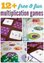 12+ FREE Multiplication Games for Kids