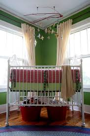 impressive mini crib bedding sets in nursery eclectic with over crib next to medallion hung ds